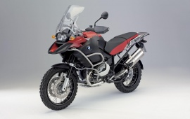 2008 BMW R1200GS Red Motorcycle