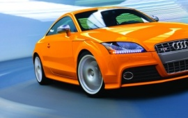 2009 TTS Coupe Orange