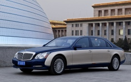 2011 Maybach 62 S Car