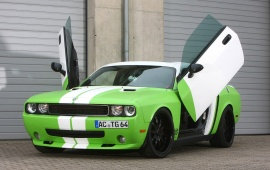 2012 Dodge Challenger Green