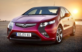 2012 European Opel Ampera Car