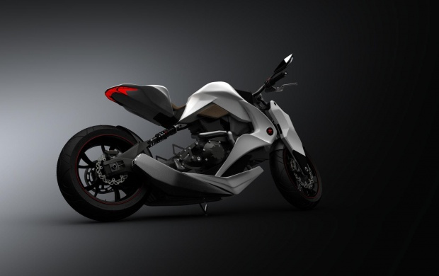 2012 Izh Hybrid Motorcycle (click to view)
