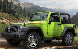2012 Jeep Wrangler Mountain
