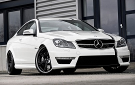 2012 Mercedes Benz C63 AMG Coupe