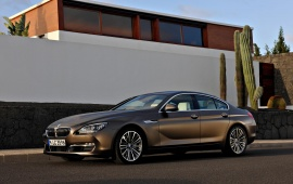 2013 BMW 6 Series Gran Coupe On Road