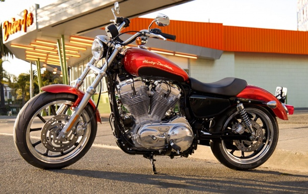 2013 Harley Davidson XL883 (click to view)