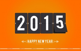 2015 Orange Background
