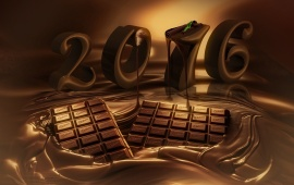 2016 Chocolate New Year