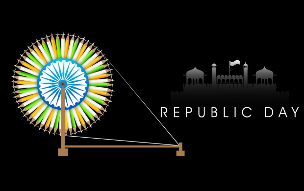 26 January Indian Republic Day Vector (click to view)