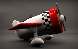 3D Airplane Model