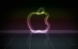 3D Apple Abstraction