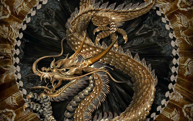 3D Chinese Dragon (click to view)