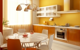3D Color Kitchen