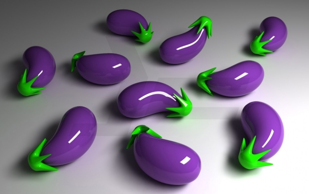 3D Eggplant (click to view)