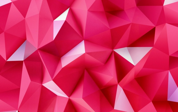 3D Pink Triangles (click to view)