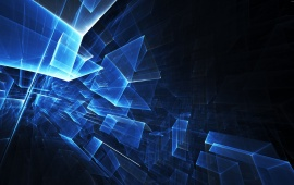 Abstract 3d hd wallpapers free wallpaper downloads abstract 3d 8382 views 3d polygon cubes voltagebd Image collections