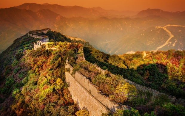 A Moody Evening At The Great Wall (click to view)