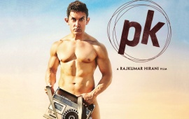 Aamir Khan In PK Movie 2014