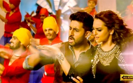 Abhishek And Sonakshi In All Is Well