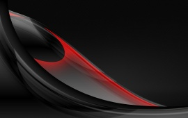 Abstract Black Red