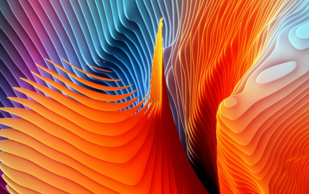 Abstract Spiral Waves (click to view)