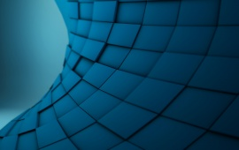 Abstract Texture Blue