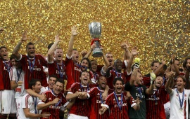 AC Milan Win Super Coppa Italia