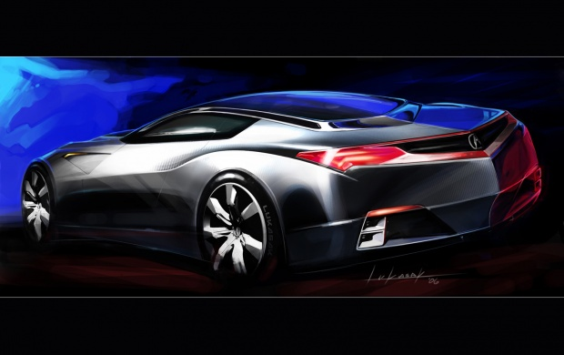 Acura Advanced Sports Car (click to view)