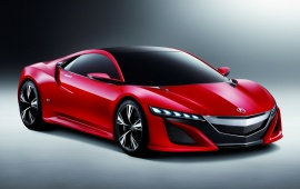 Acura NSX Concept Looks Stunning In Red