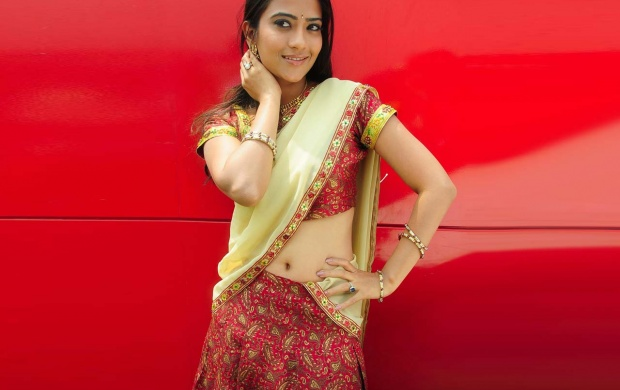 Aditi Sharma In Indian Saree (click to view)