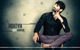 Aditya Roy Kapur In Black Shirt