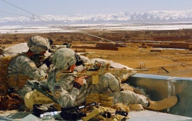 Airborne Snipers In Afghanistan