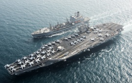 Aircraft Carrier USS Harry S Truman CVN 75