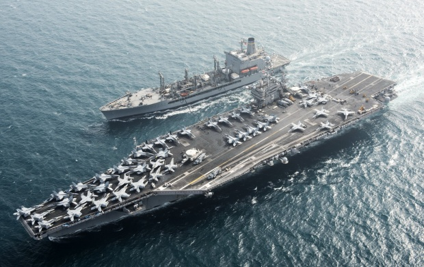 Aircraft Carrier USS Harry S Truman CVN 75 (click to view)
