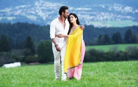 Ajay Devgan And Yami Gautam Action Jackson