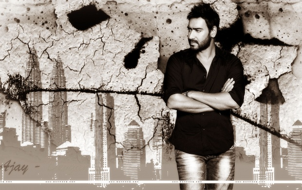Ajay Devgan Black Shirt (click to view)