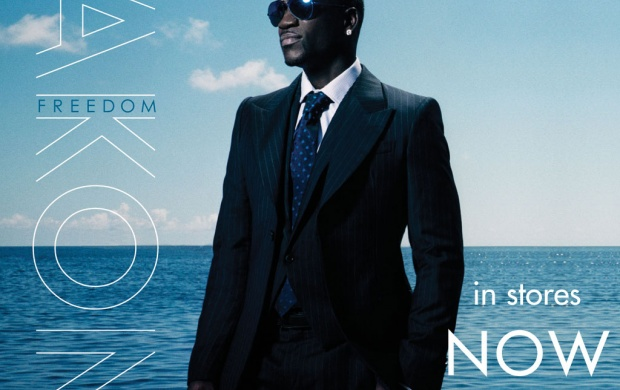 Akon Freedom Album Cover (click to view)