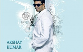 Akshay Kumar In White Suit