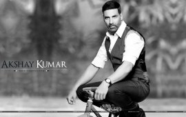 Akshay Kumar On Bicycle
