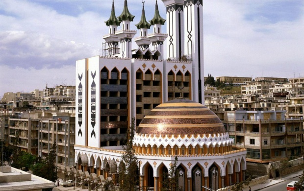 Al Rahman Mosque,Syria (click to view)