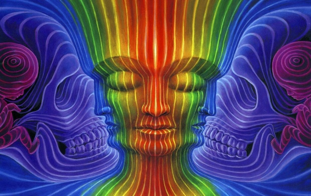 Alex Grey Interbeing (click to view)
