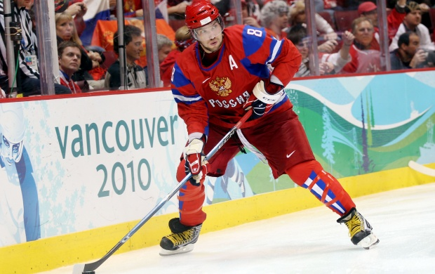 Alexander Ovechkin Team Russia (click to view)