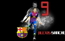 Alexis Sanchez Football