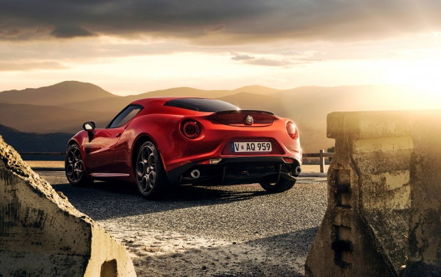 alfa romeo 4c launch edition 2015 wallpapers. Black Bedroom Furniture Sets. Home Design Ideas