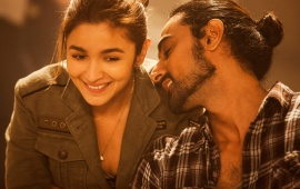 Alia Bhatt Kunal Kapoor Dear Zindagi Movie