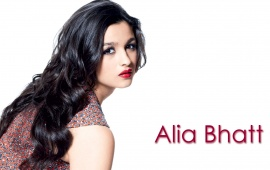 Alia Bhatt Red Lips