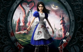 Alice Madness Returns In Wonderland