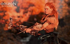 Aloy Stalking Horizon Zero Dawn
