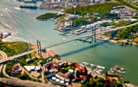 Alvsborg Bridge Aerial