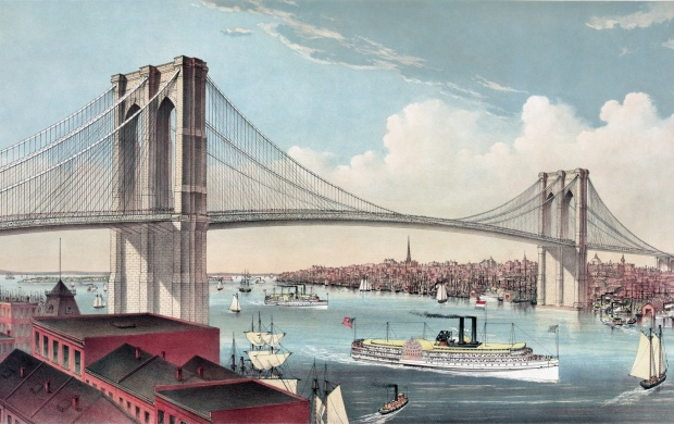 Amazing Brooklyn Bridge (click to view)